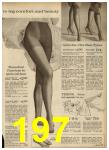 1962 Sears Spring Summer Catalog, Page 197