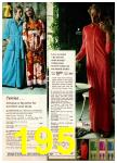 1972 Montgomery Ward Spring Summer Catalog, Page 195