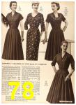 1956 Sears Fall Winter Catalog, Page 78