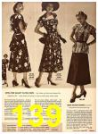 1949 Sears Spring Summer Catalog, Page 139