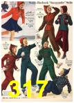 1940 Sears Fall Winter Catalog, Page 317