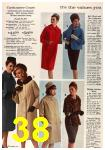 1963 Sears Fall Winter Catalog, Page 38