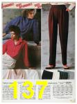 1985 Sears Fall Winter Catalog, Page 137