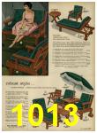 1962 Sears Spring Summer Catalog, Page 1013