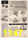 1972 Sears Fall Winter Catalog, Page 1147