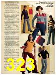 1973 Sears Fall Winter Catalog, Page 323