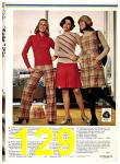 1974 Sears Fall Winter Catalog, Page 129