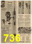 1965 Sears Spring Summer Catalog, Page 736