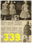 1959 Sears Spring Summer Catalog, Page 339