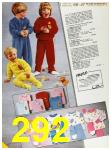 1985 Sears Fall Winter Catalog, Page 292