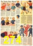1940 Sears Fall Winter Catalog, Page 274