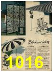 1962 Sears Spring Summer Catalog, Page 1016