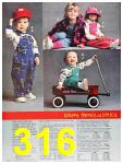 1987 Sears Fall Winter Catalog, Page 316