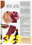1972 Sears Spring Summer Catalog, Page 325
