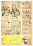 1949 Sears Spring Summer Catalog, Page 821