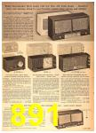 1958 Sears Spring Summer Catalog, Page 891