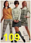 1969 Sears Fall Winter Catalog, Page 109