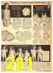 1942 Sears Spring Summer Catalog, Page 281