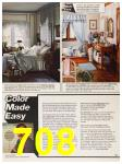 1987 Sears Fall Winter Catalog, Page 708