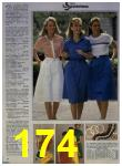 1984 Sears Spring Summer Catalog, Page 174