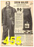 1940 Sears Fall Winter Catalog, Page 455