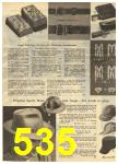 1960 Sears Spring Summer Catalog, Page 535