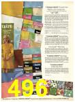 1969 Sears Fall Winter Catalog, Page 496