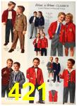 1958 Sears Fall Winter Catalog, Page 421