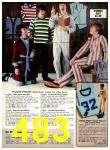 1977 Sears Fall Winter Catalog, Page 483
