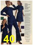 1972 Sears Fall Winter Catalog, Page 40