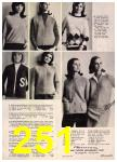 1965 Sears Fall Winter Catalog, Page 251