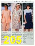 1993 Sears Spring Summer Catalog, Page 205