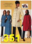 1971 Sears Fall Winter Catalog, Page 351