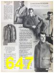 1967 Sears Fall Winter Catalog, Page 647