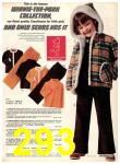 1974 Sears Fall Winter Catalog, Page 293