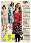 1976 Sears Fall Winter Catalog, Page 47