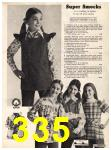 1973 Sears Fall Winter Catalog, Page 335