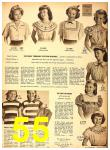 1949 Sears Spring Summer Catalog, Page 55