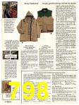 1982 Sears Fall Winter Catalog, Page 798