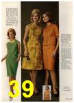 1965 Sears Spring Summer Catalog, Page 39