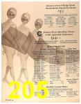 1964 Sears Spring Summer Catalog, Page 205