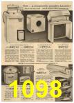 1961 Sears Spring Summer Catalog, Page 1098