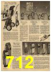 1961 Sears Spring Summer Catalog, Page 712