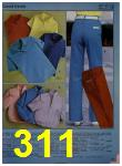 1984 Sears Spring Summer Catalog, Page 311