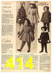 1962 Sears Fall Winter Catalog, Page 414