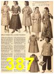 1956 Sears Fall Winter Catalog, Page 387