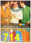 1967 Sears Fall Winter Catalog, Page 714