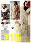 1974 Sears Fall Winter Catalog, Page 115