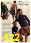 1972 Sears Fall Winter Catalog, Page 422