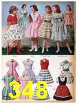 1957 Sears Spring Summer Catalog, Page 348